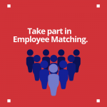 Group of employee image that leads to employee matching page.